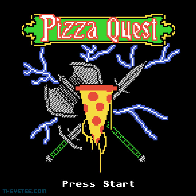 The Yetee: Pizza Quest