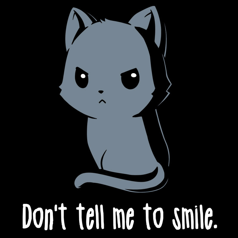 TeeTurtle: Don't Tell Me To Smile