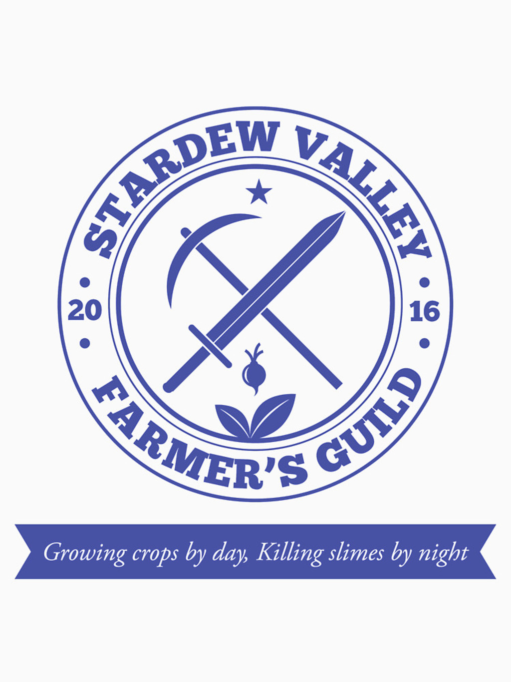RedBubble: Stardew Valley Farmer's Guild Redux