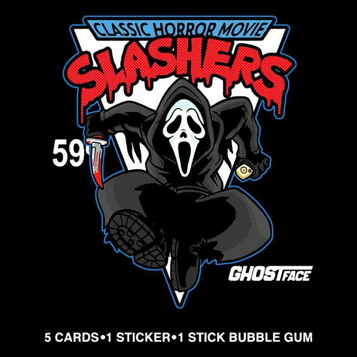 Once Upon a Tee: Ghost Classic Slashers