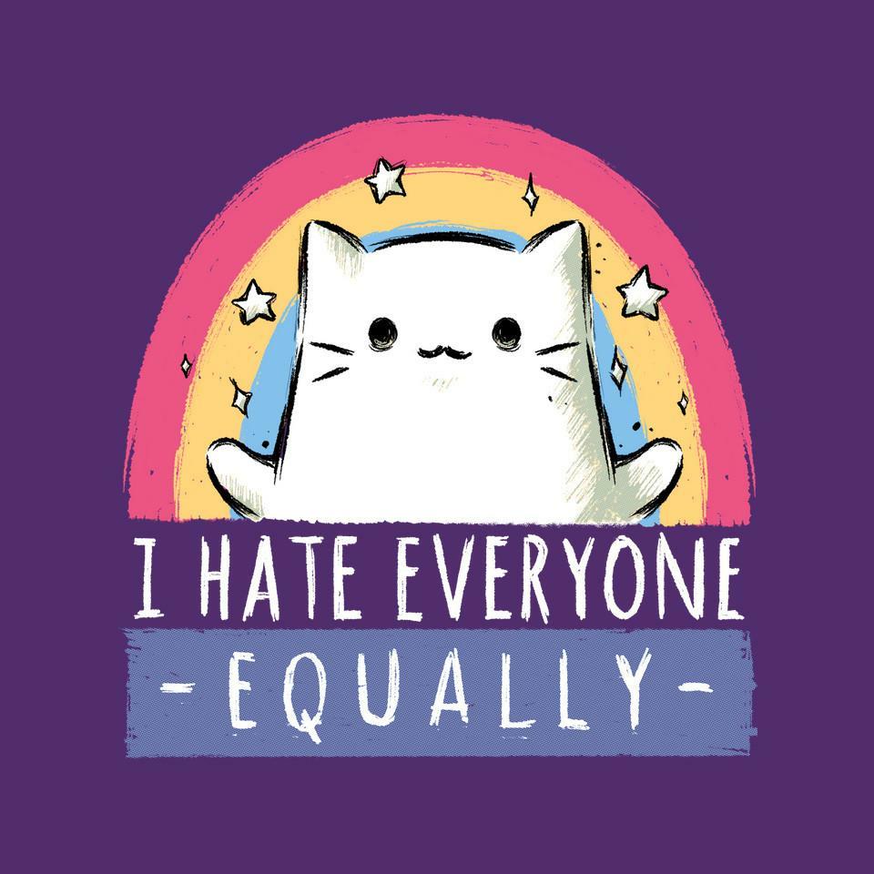 TeeFury: Equally Hate