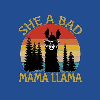 BustedTees: She a bad Mama LLama