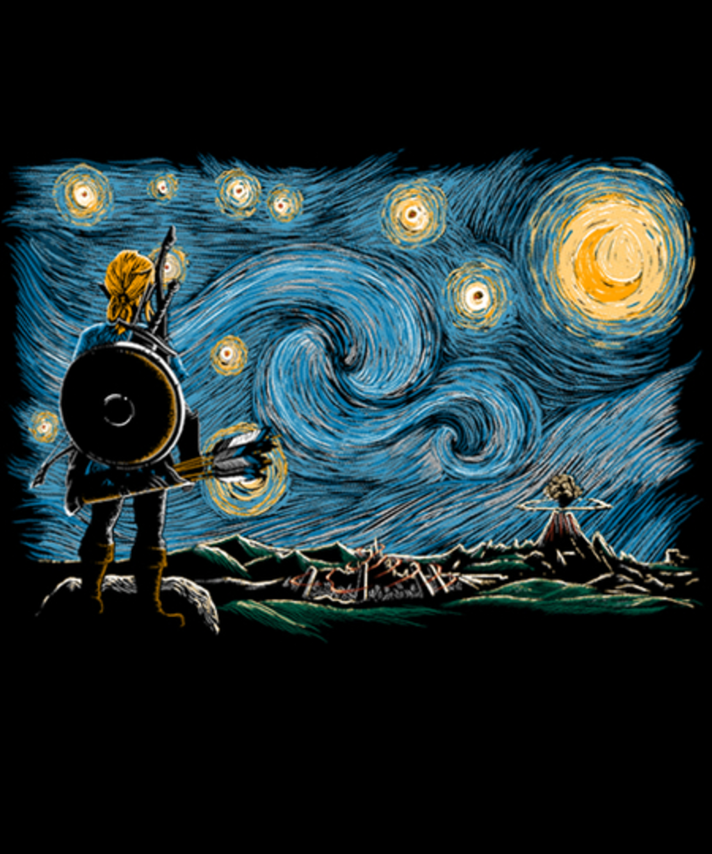 Qwertee: Starry Breath