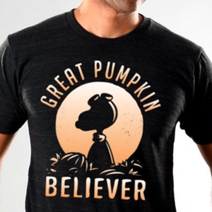 SnorgTees: Great Pumpkin Believer Limited Edition Tri-Blend