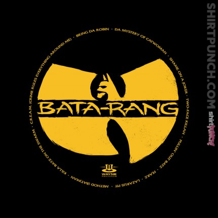ShirtPunch: Batman Clan