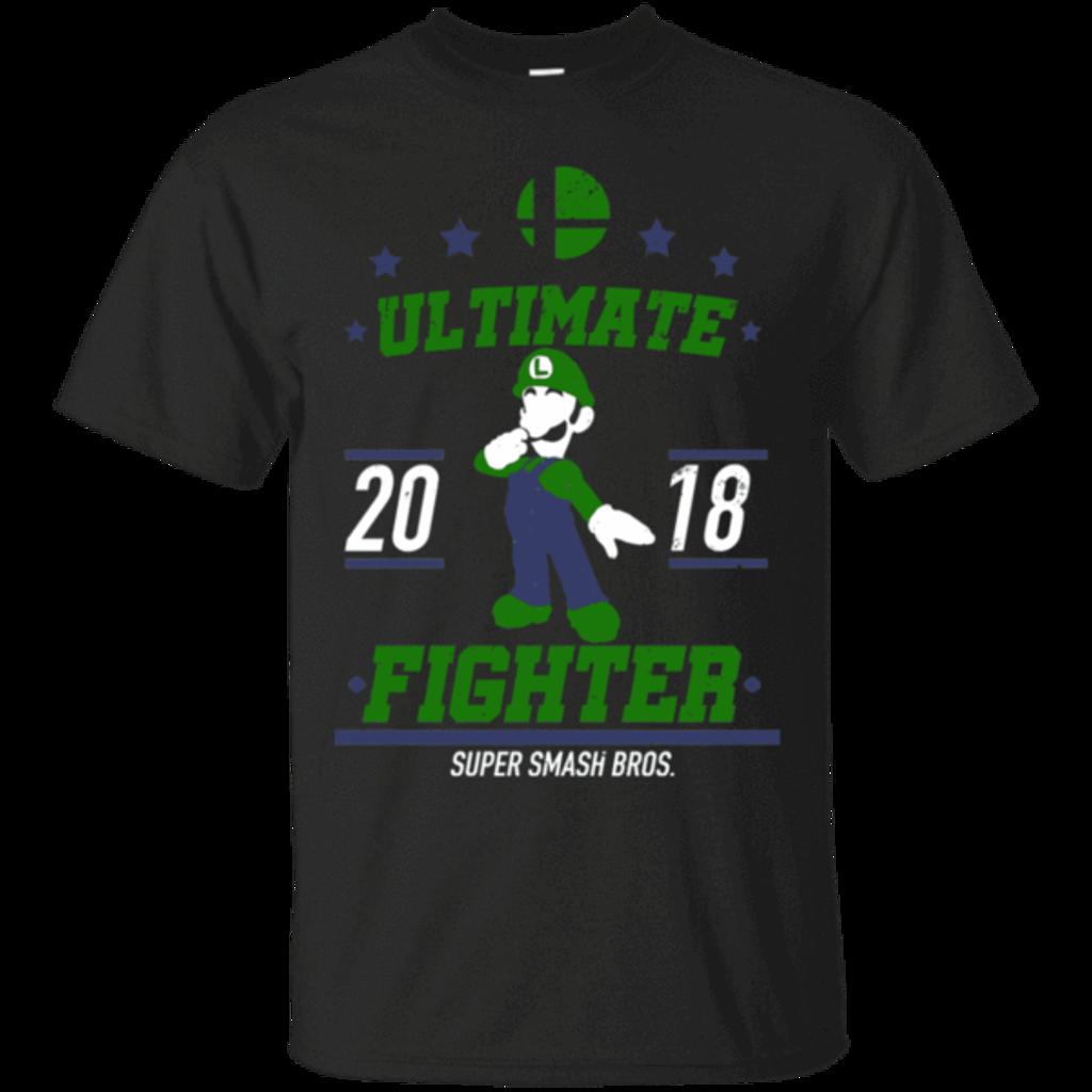 Pop-Up Tee: Ultimate Fighter Luigi