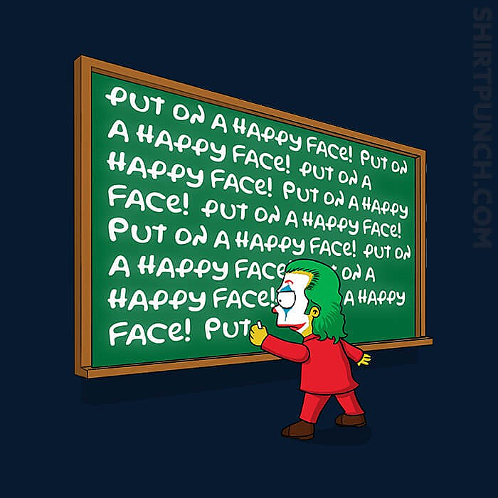 ShirtPunch: Put On A Happy Face