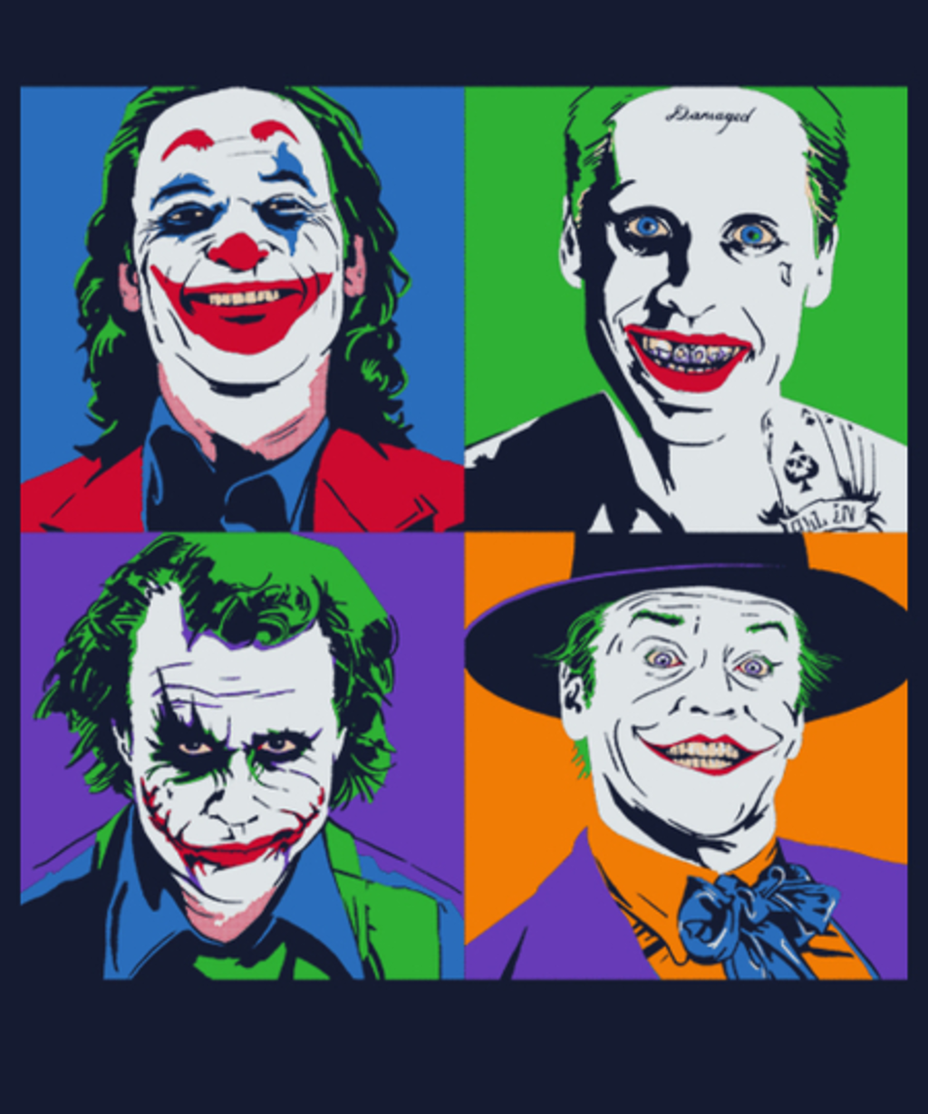 Qwertee: Pop Jokers