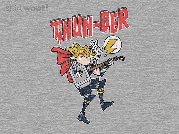 Woot!: Rock Thunder God
