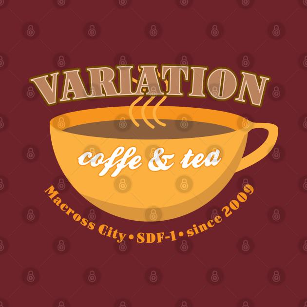 TeePublic: Variation Coffe and Tea Macross City