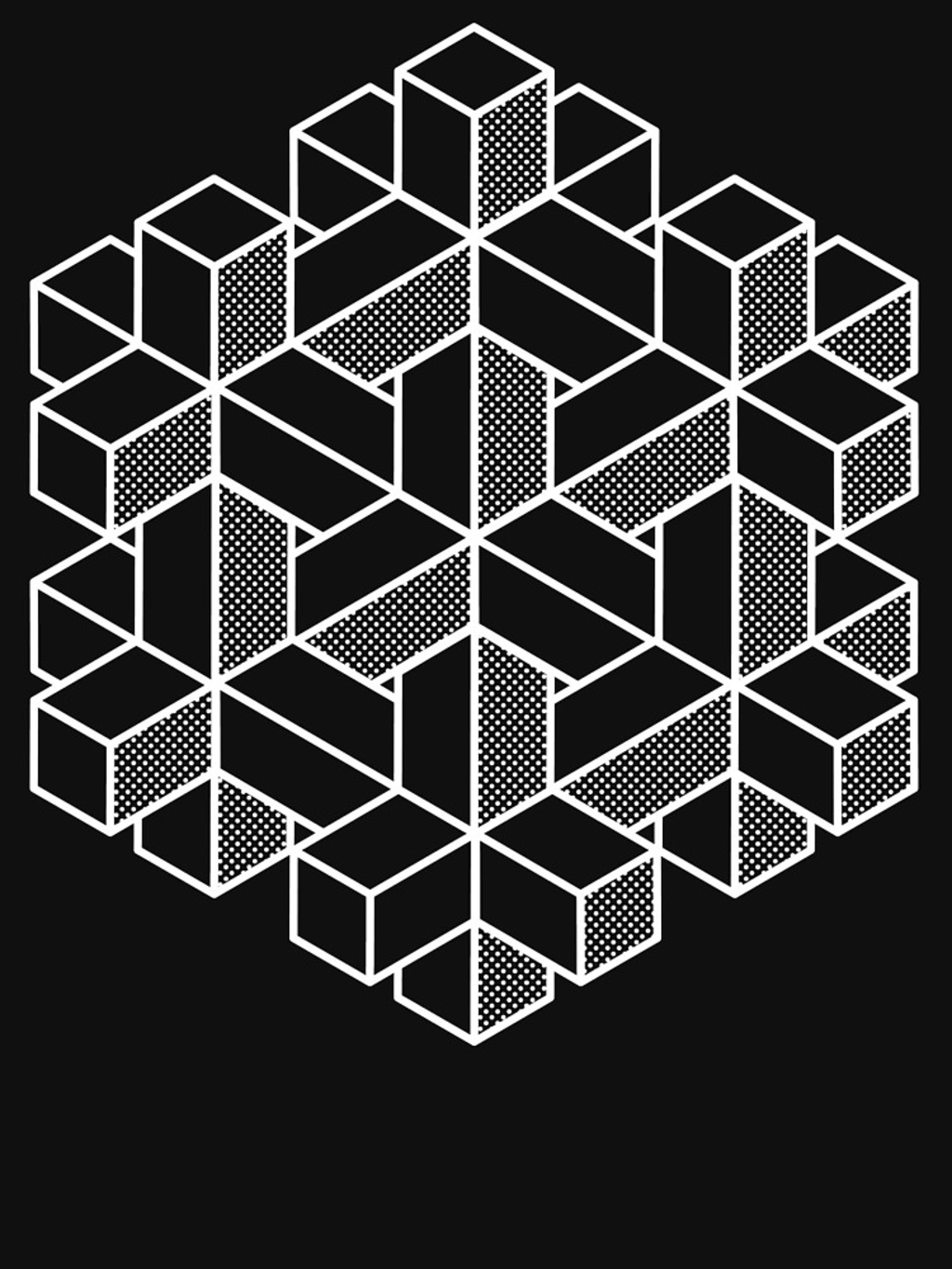 RedBubble: Impossible Shapes: Hexagon