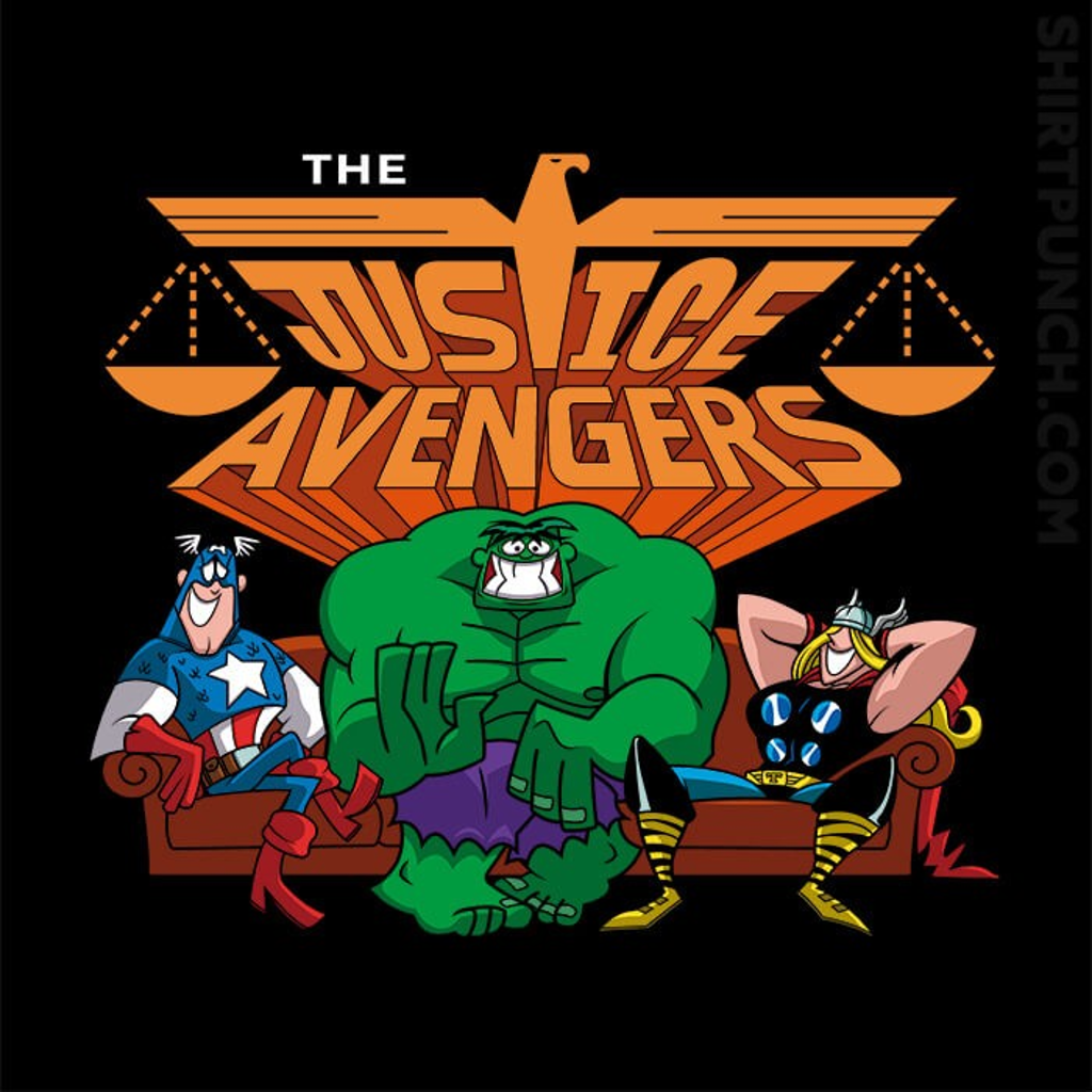 ShirtPunch: The Justice Avengers