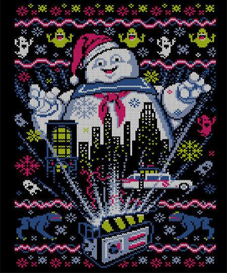 Qwertee: There Is no Santa, Only Zuul!