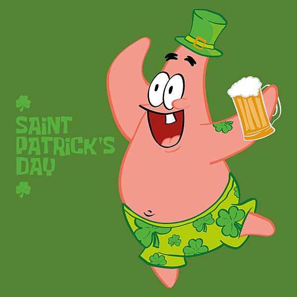 NeatoShop: Saint Patrick Star's Day