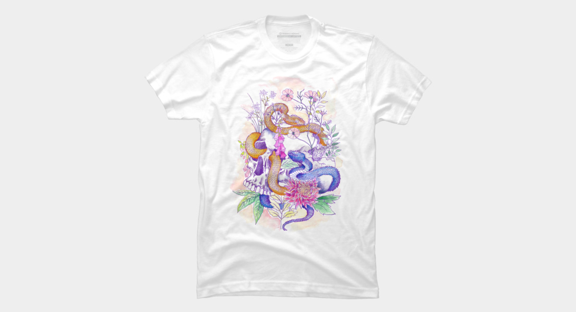 Design by Humans: Summer skull