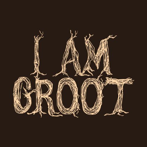 Five Finger Tees: I Am Groot