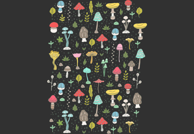 Design by Humans: mushrooms