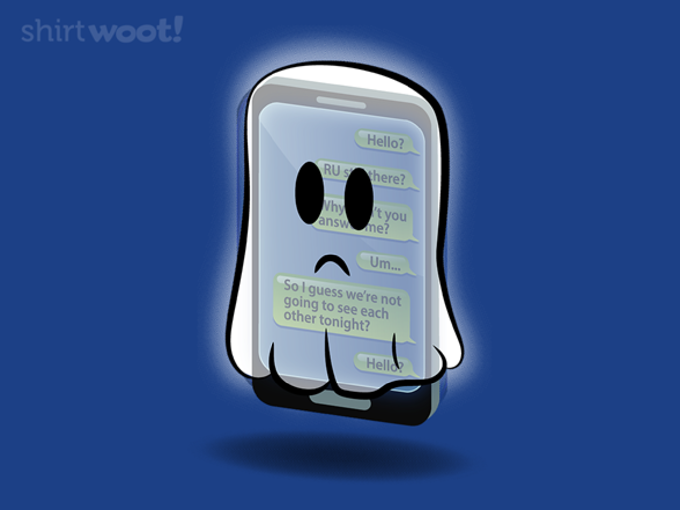 Woot!: GHOSTED!