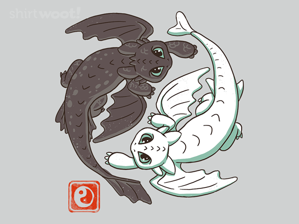 Yin Yang Dragons From Woot
