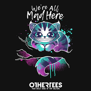 OtherTees: Mad watercolor