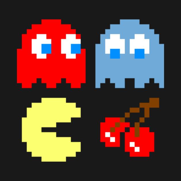TeePublic: Pac Man Characters