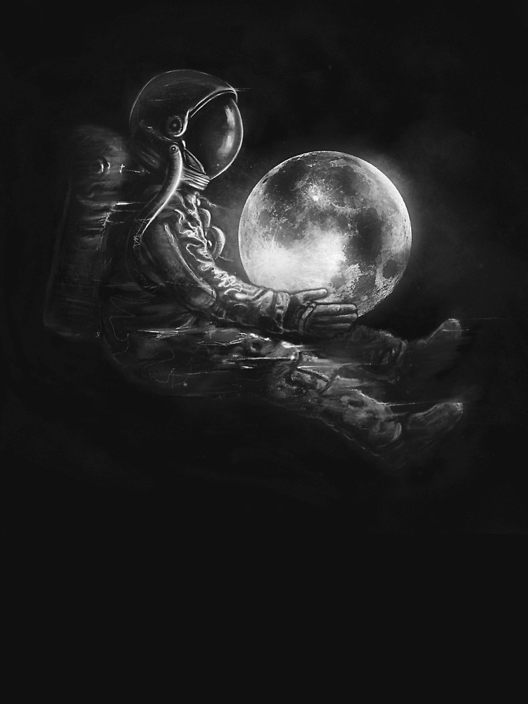 RedBubble: Moon Play