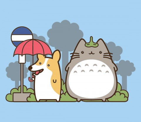 TeeFury: My Fluffy Neighbor