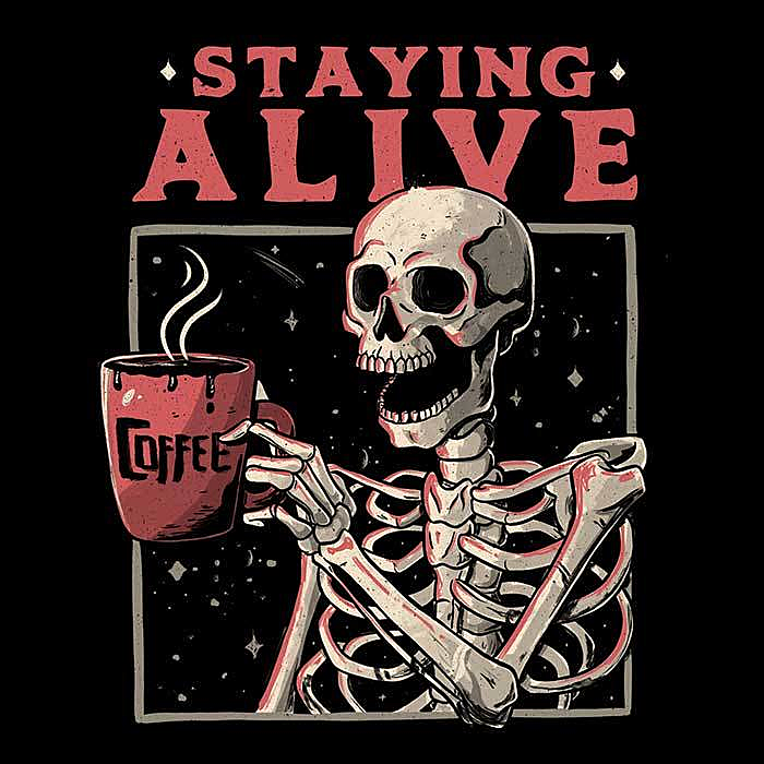 Once Upon a Tee: Staying Alive