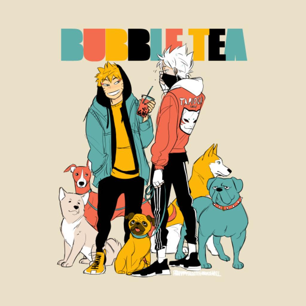 TeePublic: BUBBLETEA