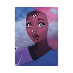 TeePublic: Cotton Candy Garnet