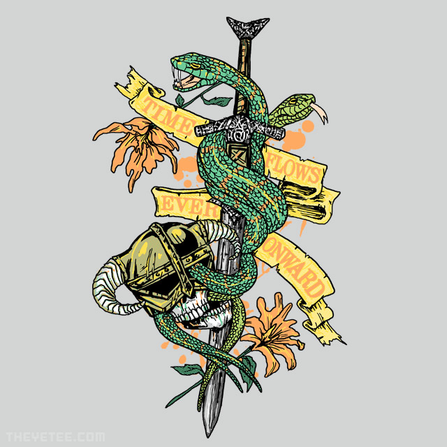 The Yetee: Time FLows Ever Onward