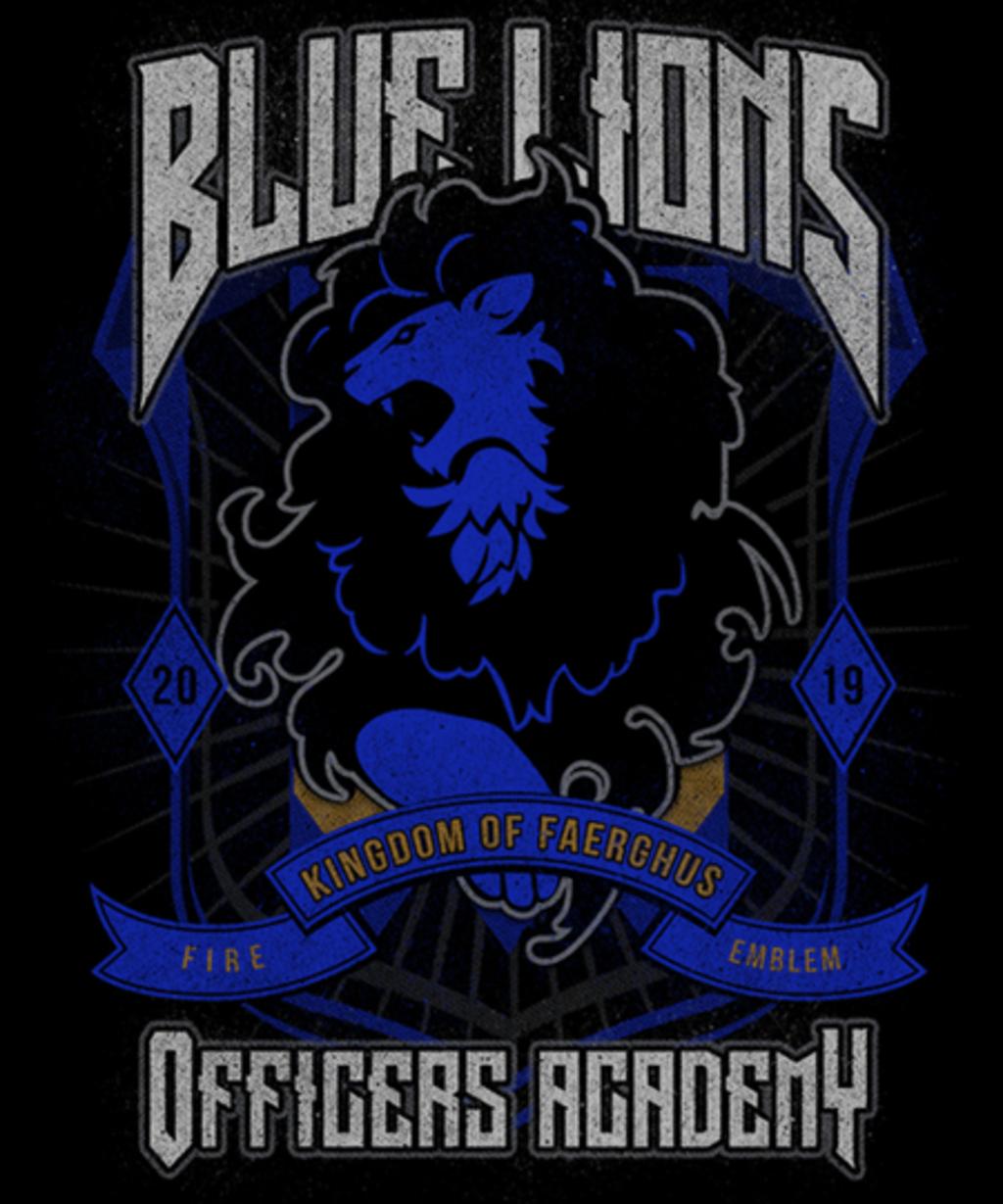 Qwertee: Blue Lions Faction