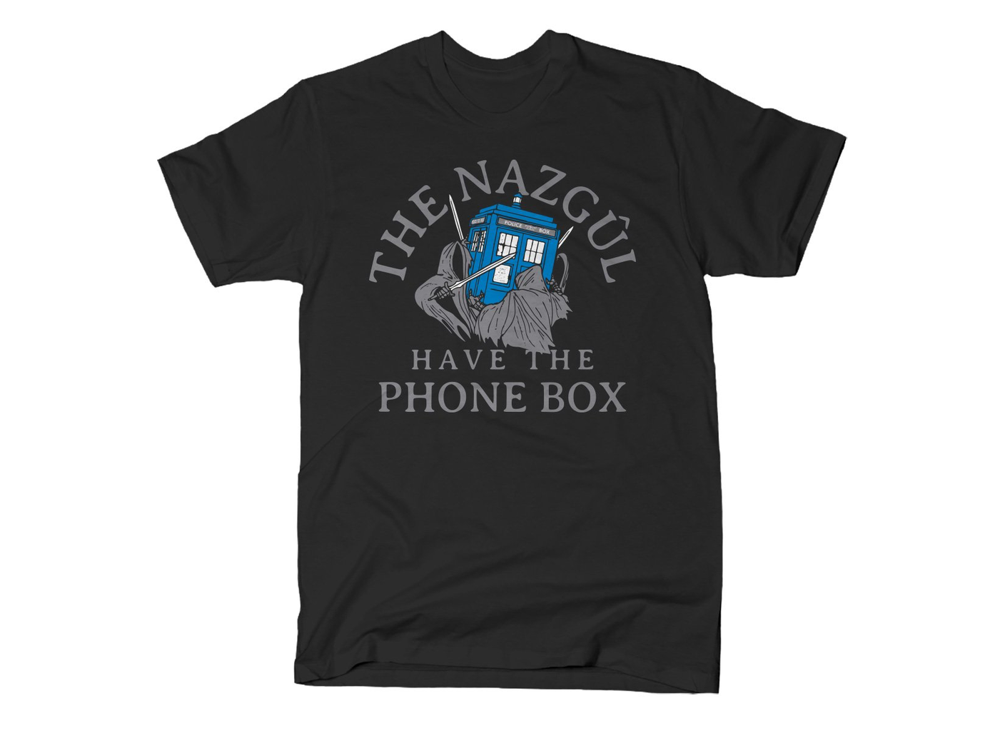 SnorgTees: The Nazgul Have The Phone Box