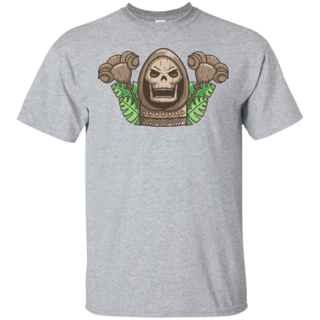 Pop-Up Tee: Skeletor Tiki