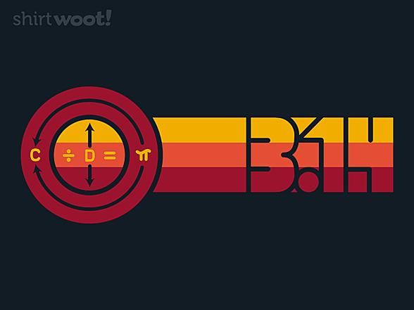 Woot!: Retro Pi Stripes