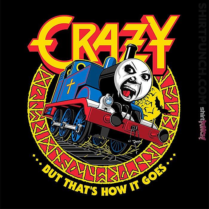 ShirtPunch: Crazy Train