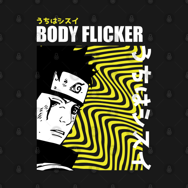 TeePublic: Body Flicker shisui uchiha