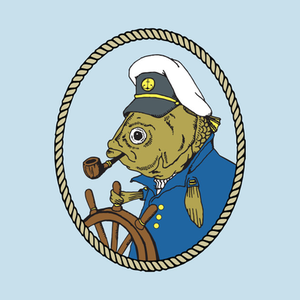 TeePublic: The Sea Captain