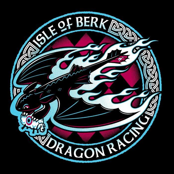 Once Upon a Tee: Berk Dragon Racing