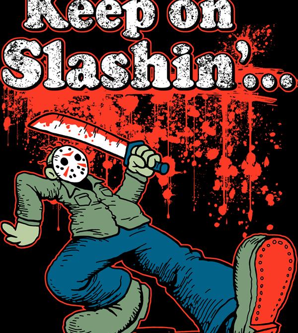 teeVillain: Keep On Slashing
