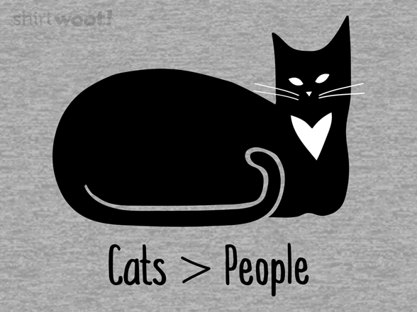 Woot!: Cats > People