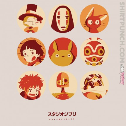 ShirtPunch: Ghibli Collection