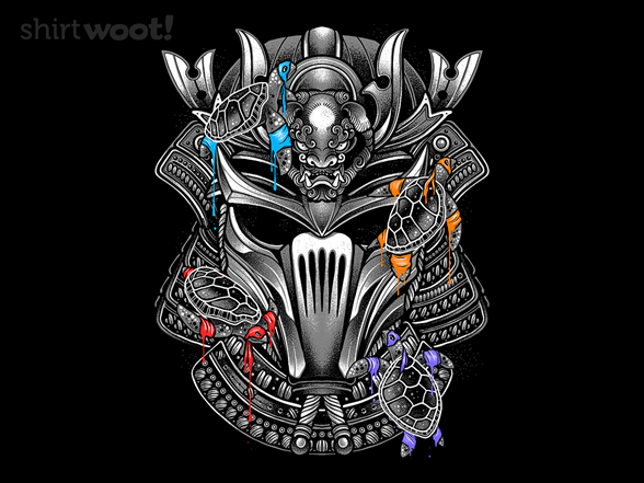 Woot!: Four Ninjas, One Samurai