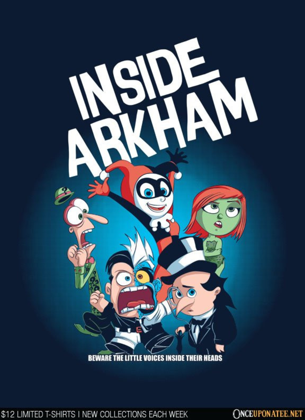 Once Upon a Tee: Inside Arkham