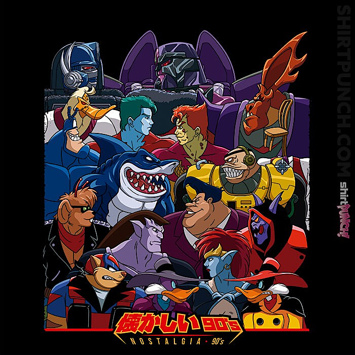 ShirtPunch: Good Vs Evil 90s