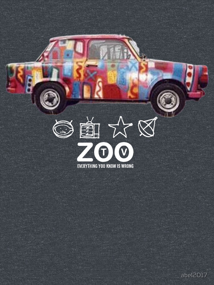RedBubble: Achtung Baby Zoo TV  by ABEL2017