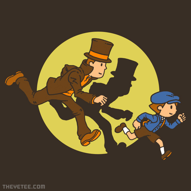 The Yetee: Adventures of Layton & Luke