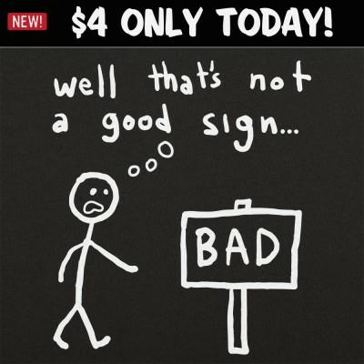 6 Dollar Shirts: Not A Good Sign