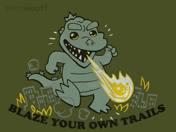 Woot!: Blaze Your Own Trails - $8.00 + $5 standard shipping