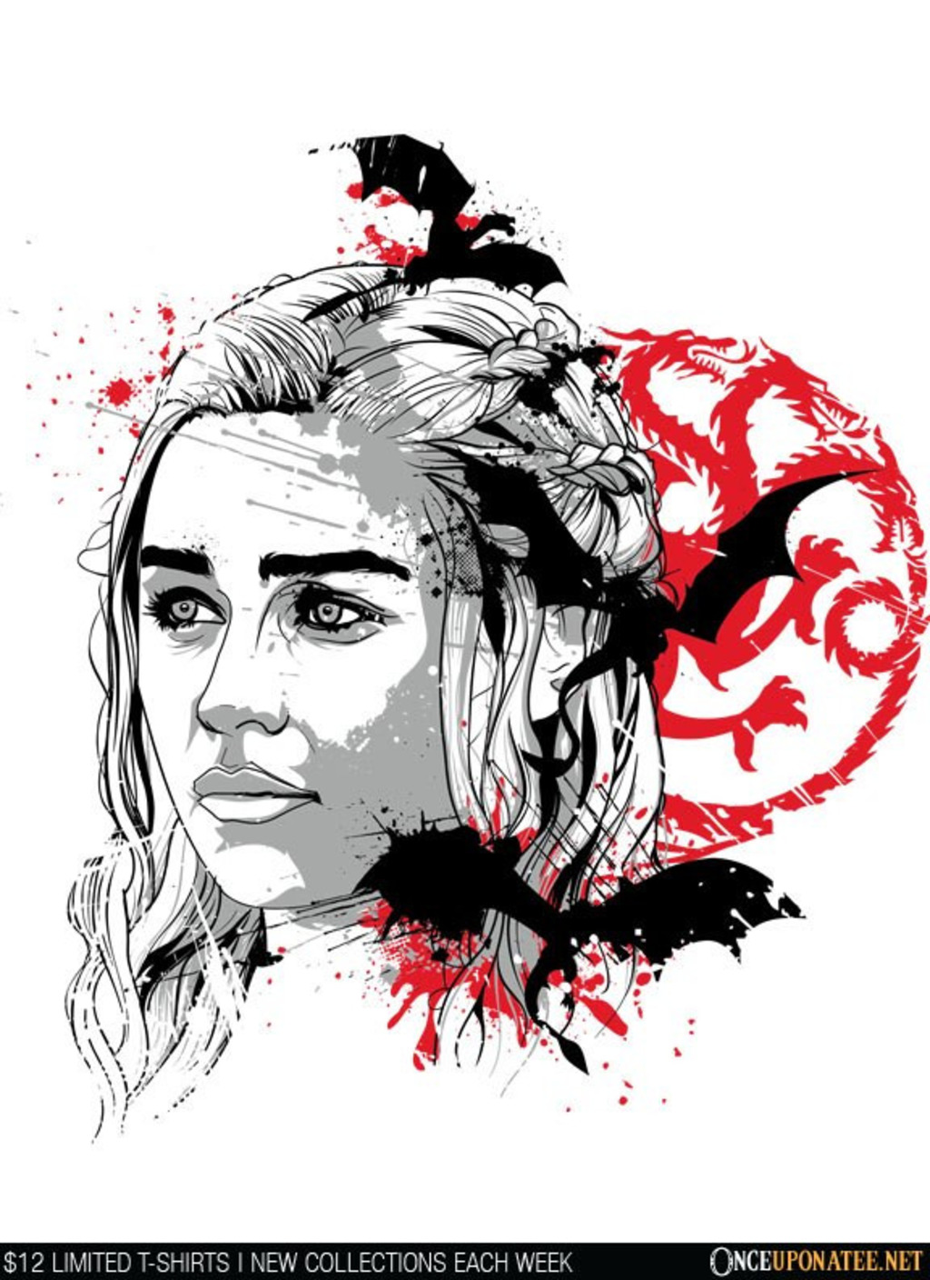 Once Upon a Tee: Mother of Dragons